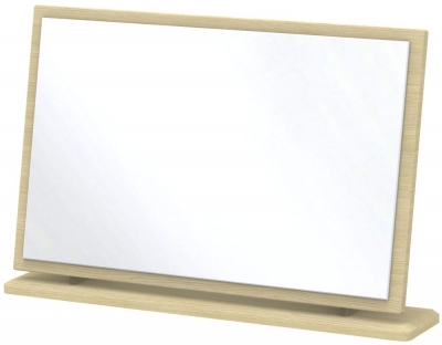 Kingston Light Oak Mirror - Large