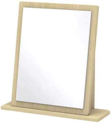 Kingston Light Oak Mirror - Small