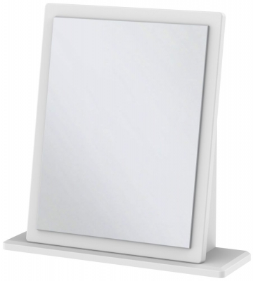 Kingston White Mirror - Small