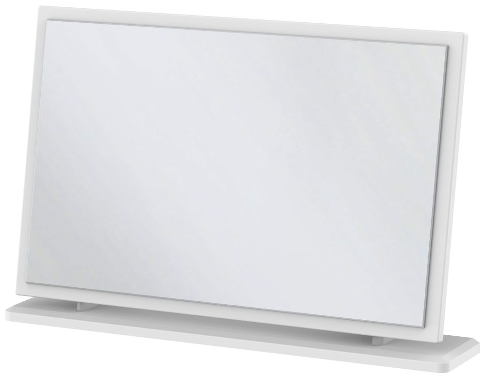 Kingston White Mirror - Large