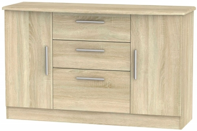 Knightsbridge Bardolino 2 Door 3 Drawer Sideboard