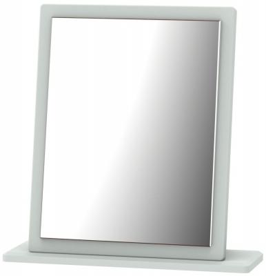 Knightsbridge Grey Matt Small Mirror