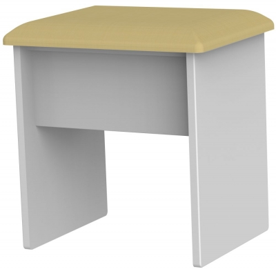 Knightsbridge Grey Matt Stool