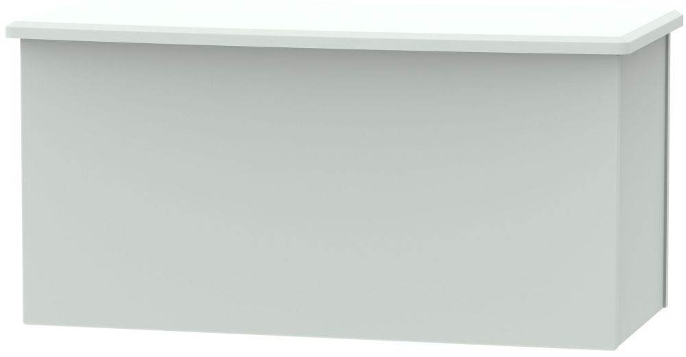 Knightsbridge Grey Matt Blanket Box