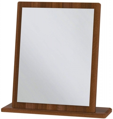 Knightsbridge Noche Walnut Small Mirror