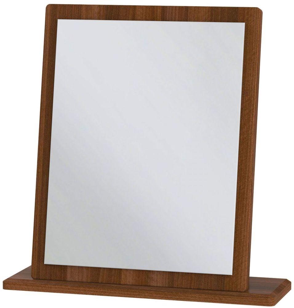 Knightsbridge Noche Walnut Small Mirror