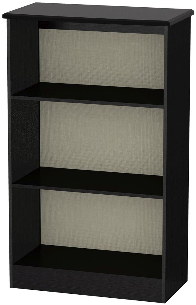Knightsbridge Black Bookcase