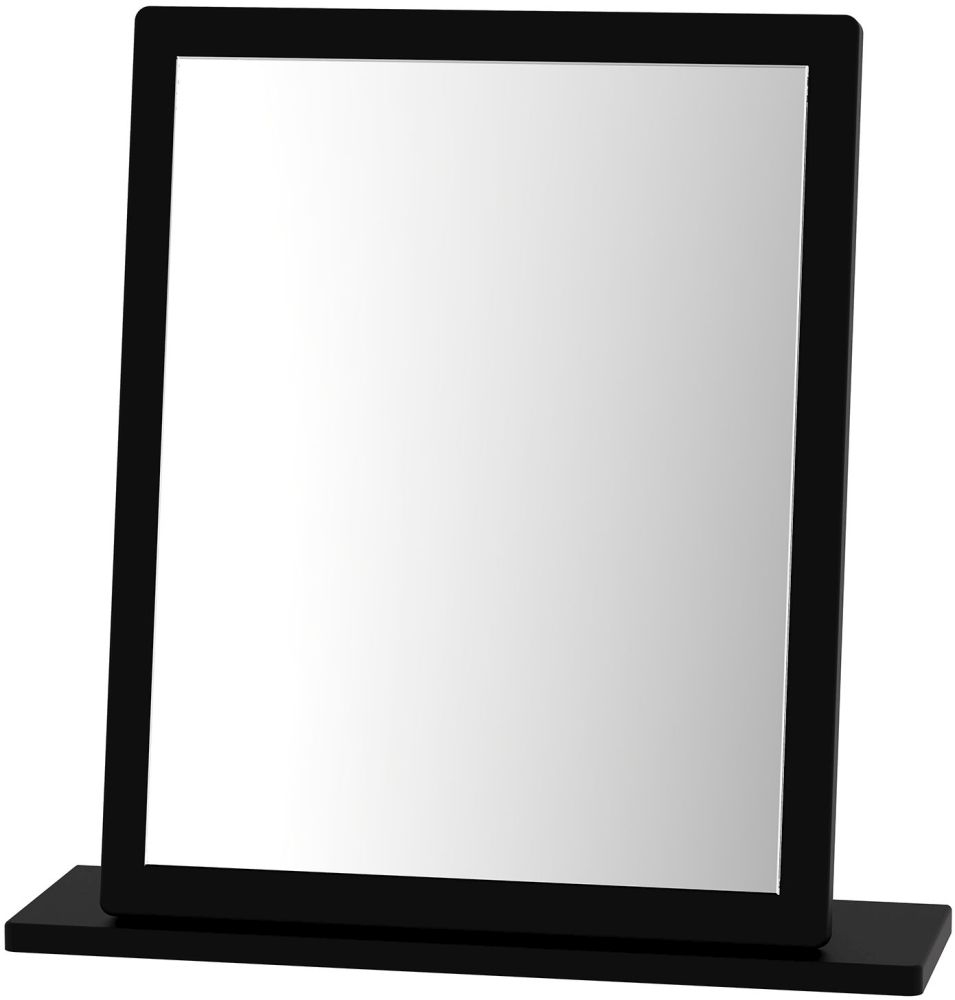 Knightsbridge Black Small Mirror