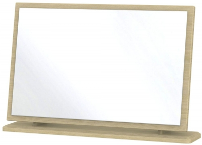 Knightsbridge Light Oak Mirror - Large
