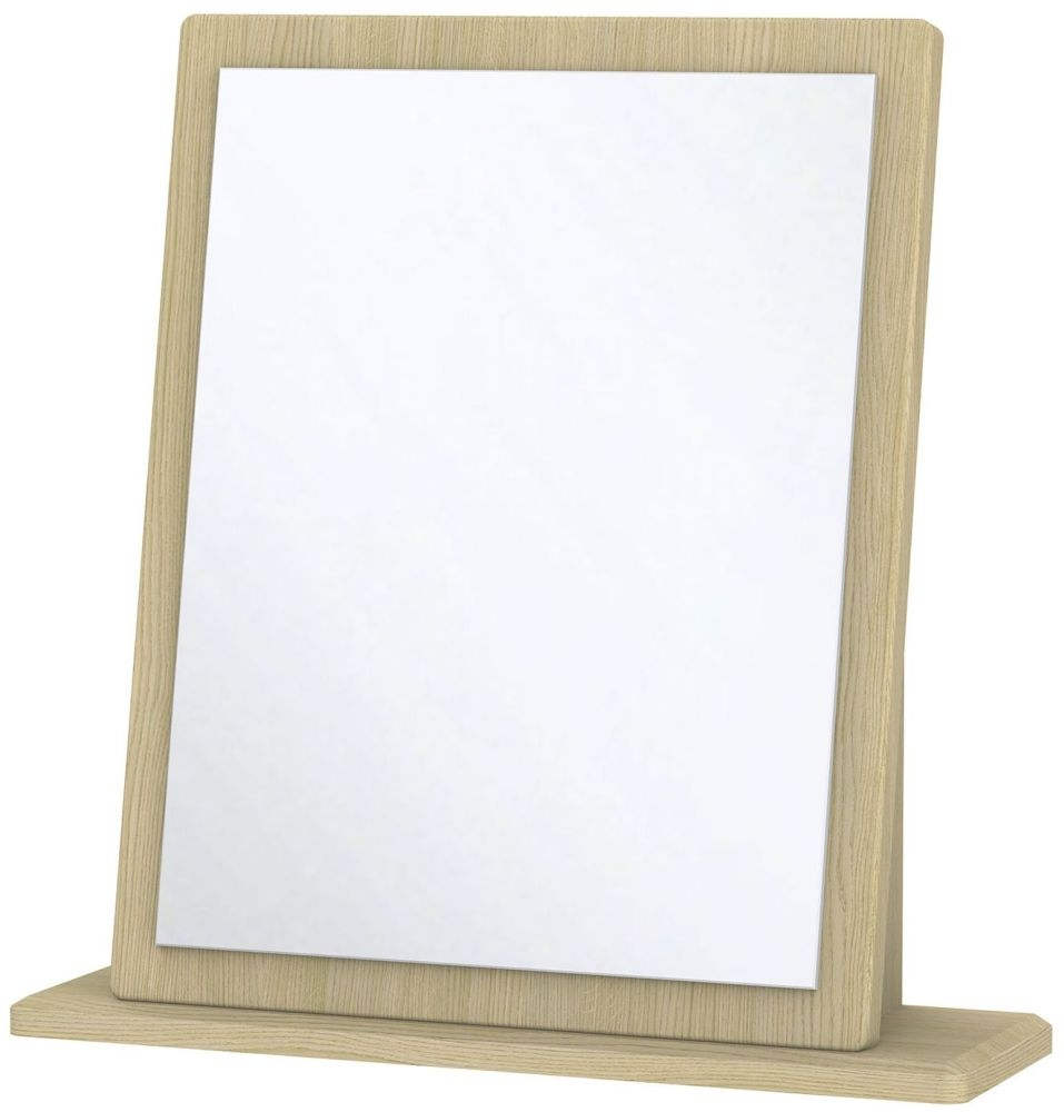 Knightsbridge Light Oak Mirror - Small