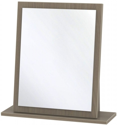 Knightsbridge Toronto Walnut Mirror - Small