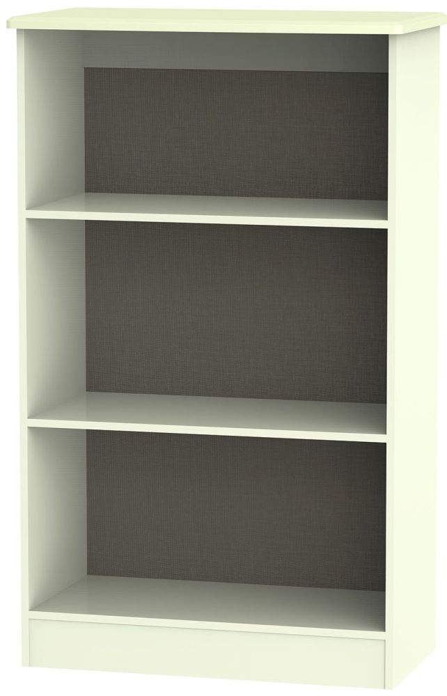 Knightsbridge Cream Bookcase - 2 Shelves