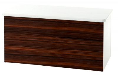 Knightsbridge Ebony Blanket Box