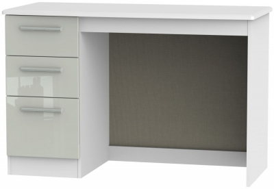 Knightsbridge Desk - High Gloss Kaschmir and White