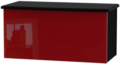 Knightsbridge Ruby Blanket Box