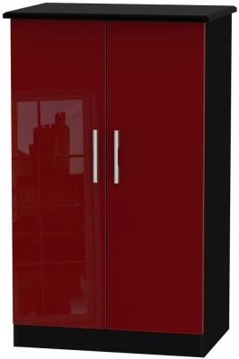 Knightsbridge Ruby Wardrobe - 2ft 6in with Plain Midi