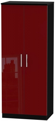 Knightsbridge Ruby Wradrobe - 2ft 6in with Plain