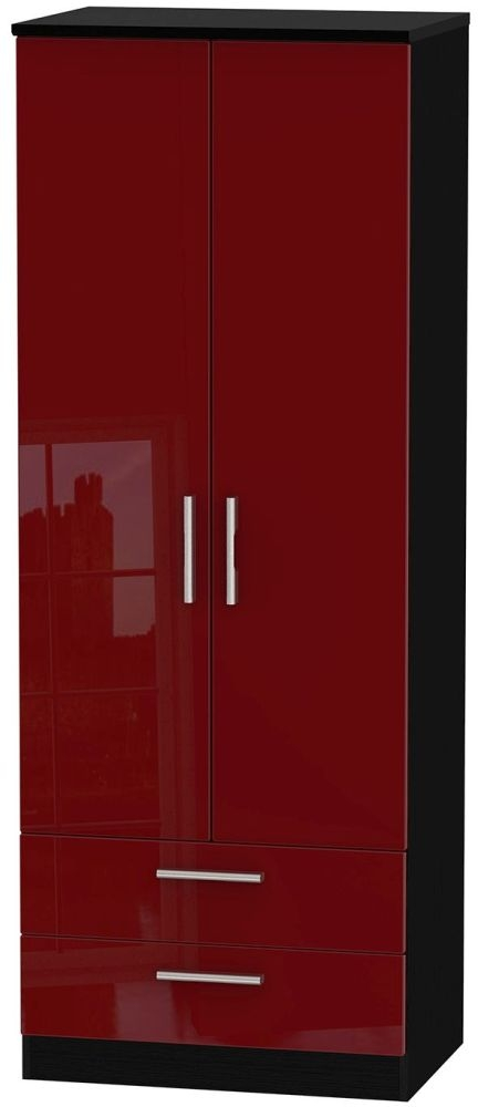 Knightsbridge Ruby Wardrobe - Tall 2ft 6in with 2 Drawer
