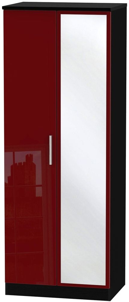 Knightsbridge Ruby Wardrobe - Tall 2ft 6in with Mirror