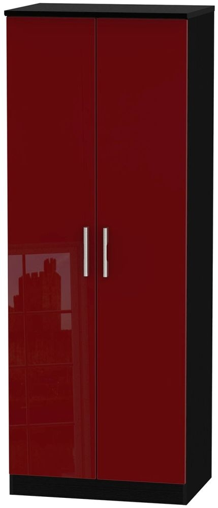 Knightsbridge Ruby Wardrobe - Tall 2ft 6in with Plain