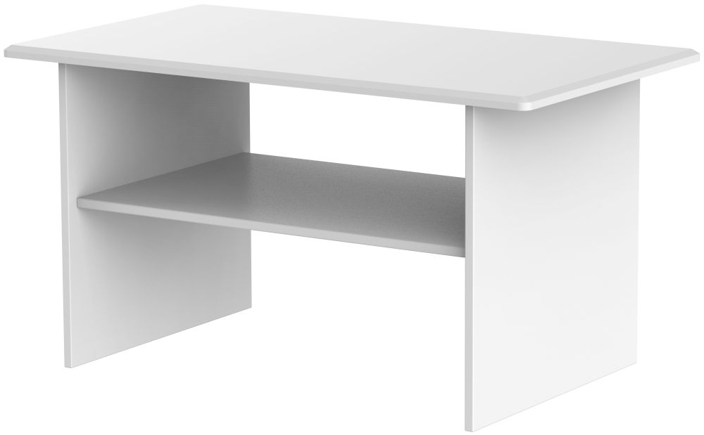 Knightsbridge White Coffee Table