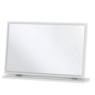 Knightsbridge White Large Mirror