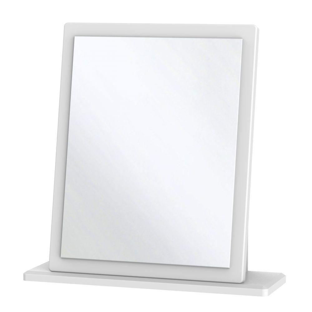 Knightsbridge White Mirror - Small