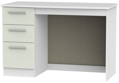 Knightsbridge Desk - Kaschmir Ash and White