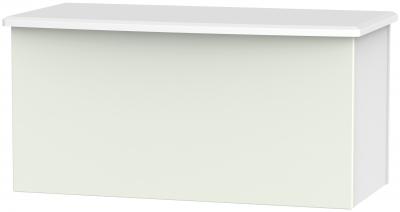 Knightsbridge Blanket Box - Kaschmir Matt and White