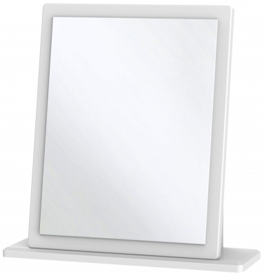 Knightsbridge White Mirror - Small