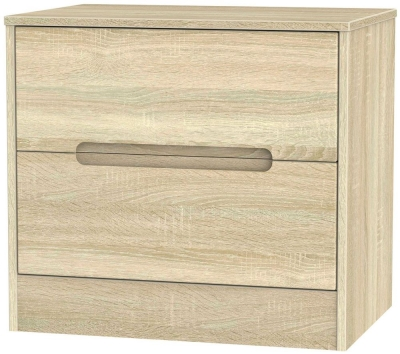 Monaco Bardolino Chest of Drawer - 2 Drawer Midi