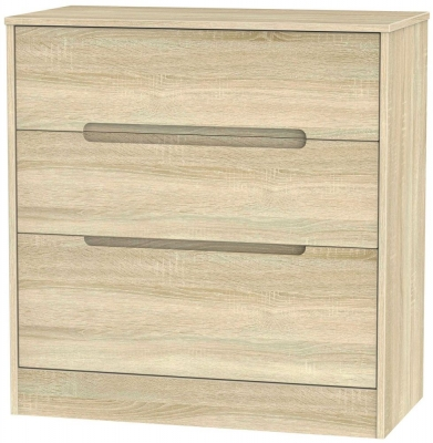 Monaco Bardolino Chest of Drawer - 3 Drawer Deep