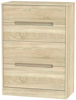 Monaco Bardolino Chest of Drawer - 4 Drawer Deep