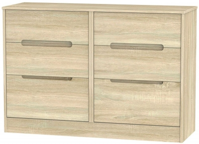 Monaco Bardolino Chest of Drawer - 6 Drawer Midi