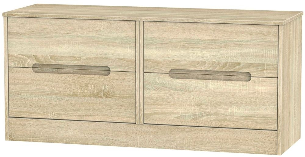 Monaco Bardolino Bed Box - 4 Drawer
