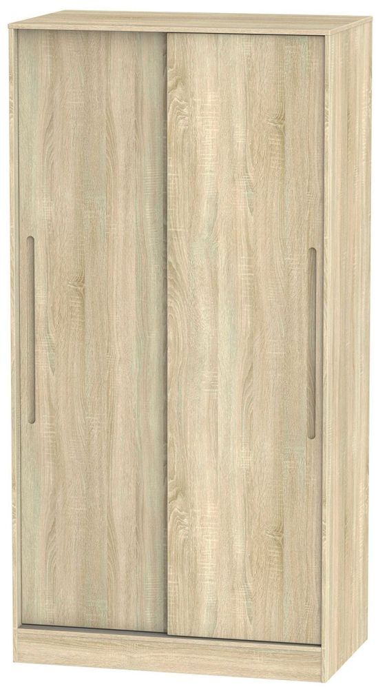 Monaco Bardolino 2 Door Wide Sliding Wardrobe