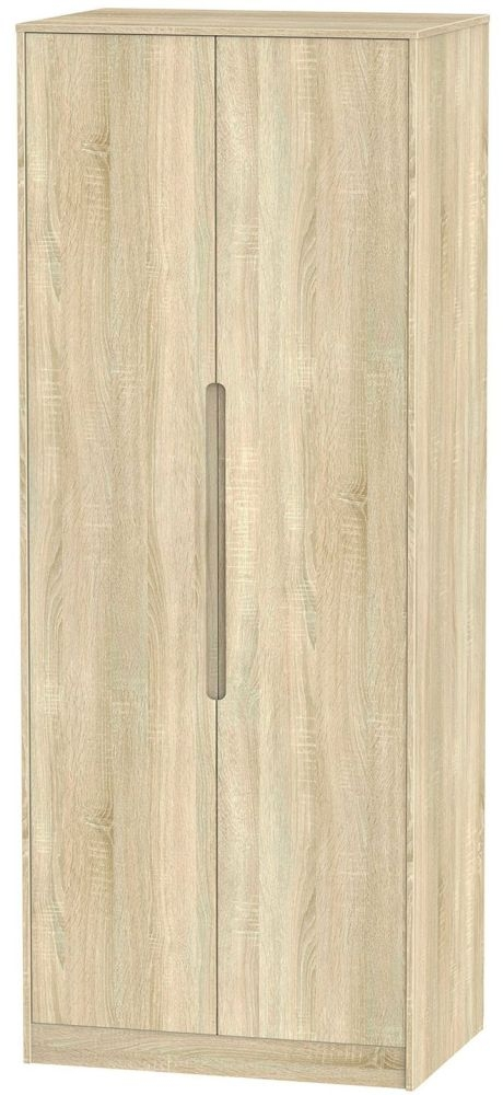 Monaco Bardolino 2 Door Tall Wardrobe
