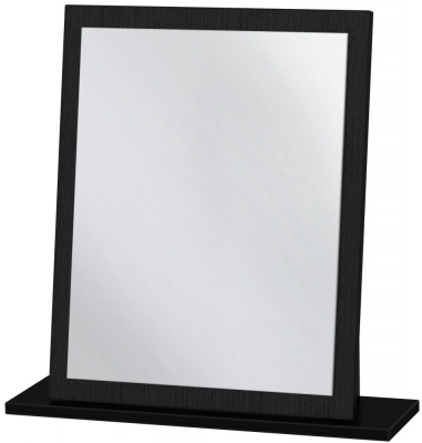 Monaco Black Small Mirror