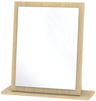 Monaco Light Oak Small Mirror