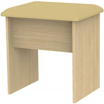 Monaco Light Oak Stool