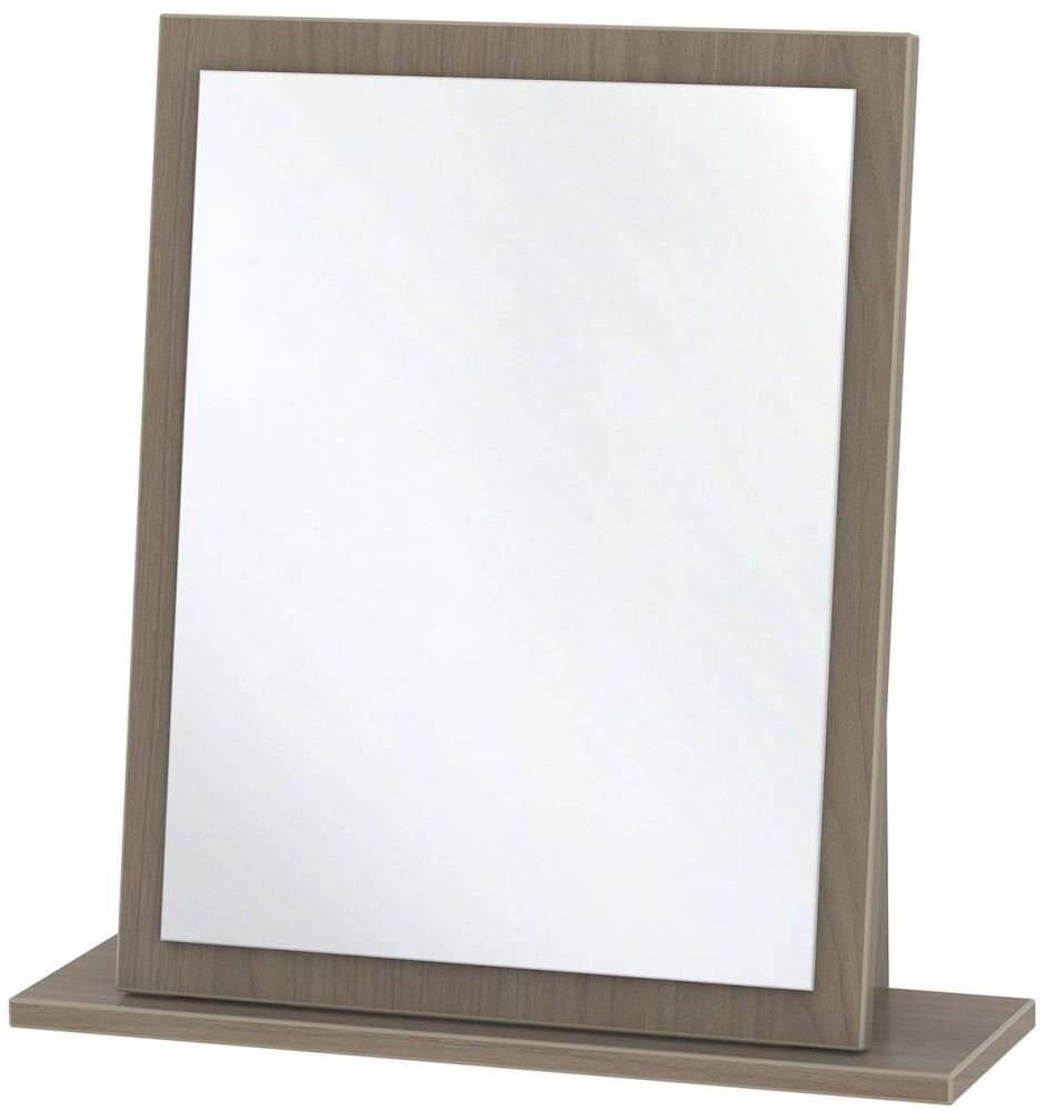 Monaco Toronto Walnut Mirror - Small