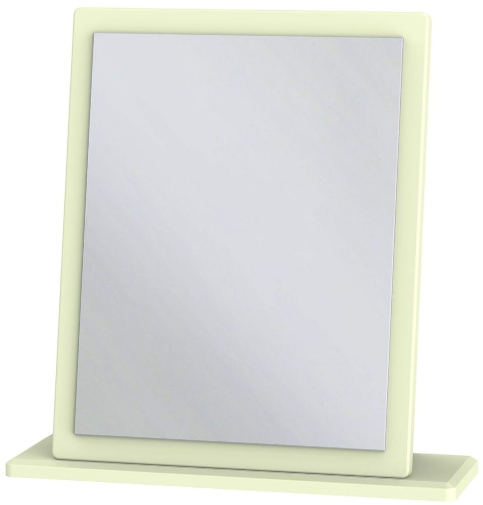 Monaco Cream Mirror - Small