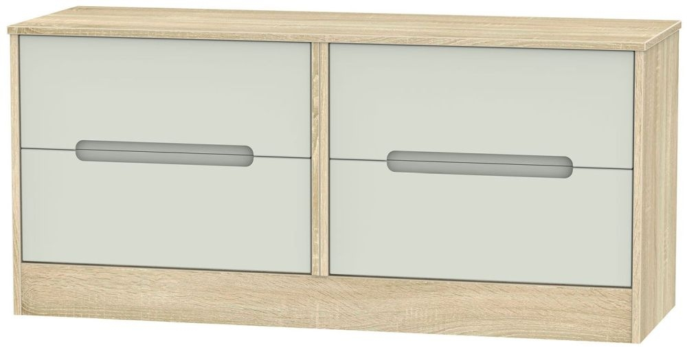 Monaco Kaschmir Matt and Bardolino Bed Box - 4 Drawer