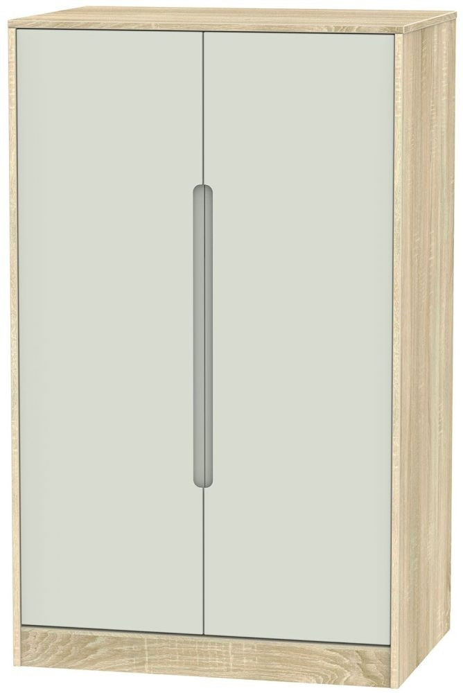 Monaco Kaschmir Matt and Bardolino Wardrobe - 2ft 6in Plain Midi