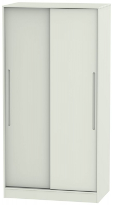 Monaco Kaschmir Matt 2 Door Sliding Wardrobe