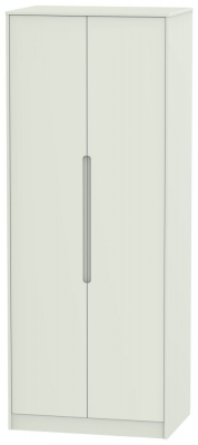 Monaco Kaschmir Matt 2 Door Tall Hanging Wardrobe