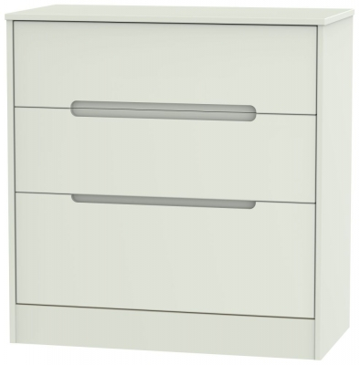 Monaco Kaschmir Matt 3 Drawer Deep Chest