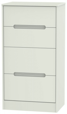 Monaco Kaschmir Matt 4 Drawer Deep Midi Chest