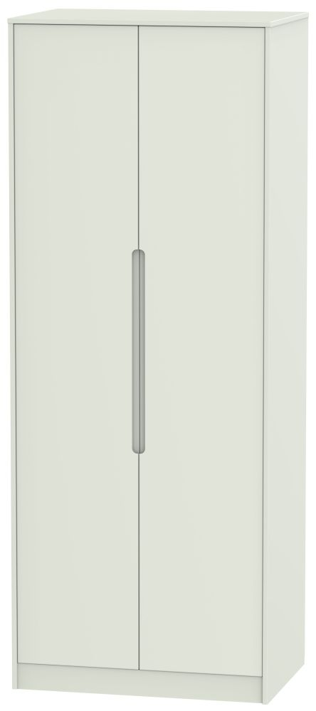 Monaco Kaschmir Matt 2 Door Tall Wardrobe