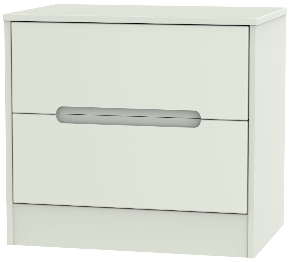 Monaco Kaschmir Matt 2 Drawer Midi Chest